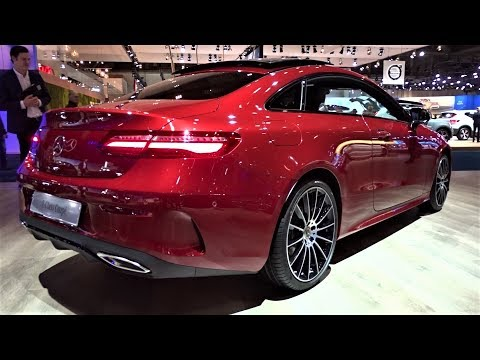 2020 Mercedes E 200 Coupe Sport Edition - Interior, Exterior, Walkaround - Auto Show Brussel 2020