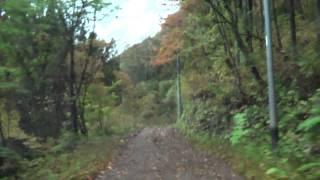 黒田~亀尾島林道 パジェロミニ車載動画