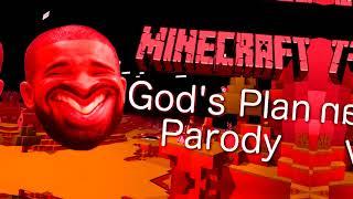 Drake   God's Plan Minecraft Parody BASSBOOSTED