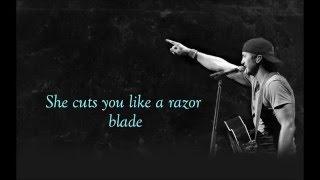 Razor Blade-Luke Bryan lyircs