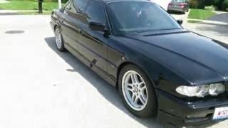 Sleeper Sedan! Big turbo 6 0 LS Swapped BMW 740IL Idle and