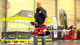 EXTREME RISKY RC HELI ACTION//RC RED BULL HELICOPTER//WALTER SCHEFBÄNKER//SCALEFLYING RC RED BULL