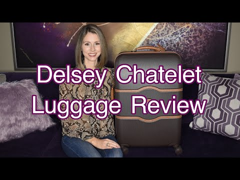 "DELSEY PARIS CHATELET 24"" HARD SPINNER SUITCASE OVERVIEW & REVIEW (LUGGAGE)"