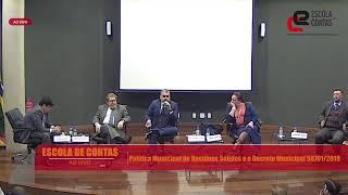 Escola de Contas do TCMSP debate a Política Municipal de Resíduos Sólidos e Decreto Municipal
