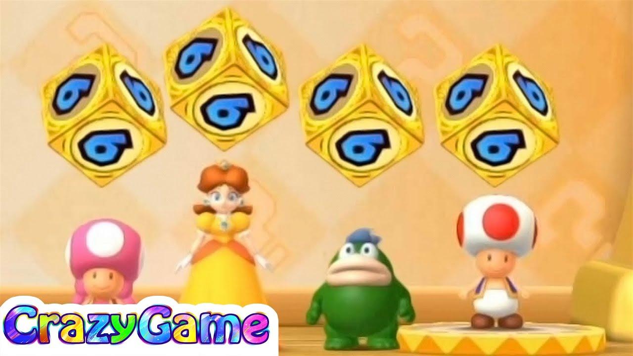 Mario Party 10 Mario Party - Airship Central - Toad vs Daisy
