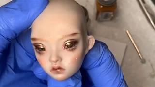 BJD With Blinking Eyes Doll