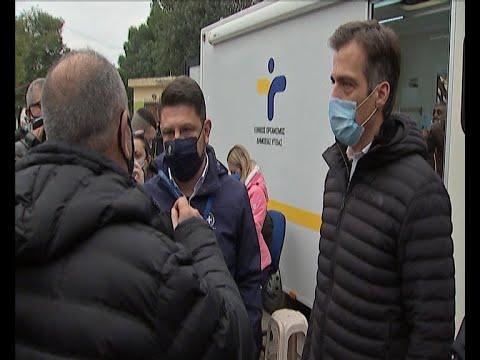 Ν. Χαρδαλιάς: Είναι πάρα πολύ σημαντικό να είμαστε ένα βήμα μπροστά από την πανδημία