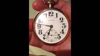 My Illinois 21 jewels A. Lincoln pocket watch.