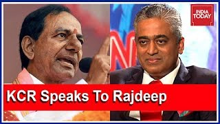 "KCR: ""BJP, Congress Are Crooked Parties"" In Interview With Rajdeep Sardesai Ahead Of #TelanganaPolls"