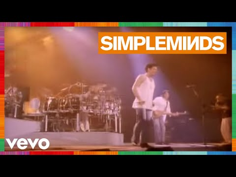 Simple Minds - Kick it in (1989)