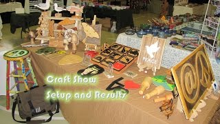 My Craft Show Booth Setup And Results