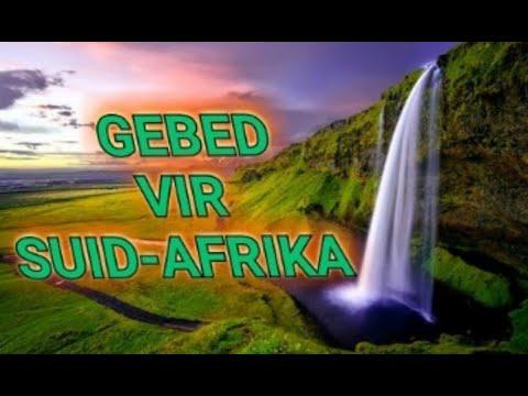 Gebed vir Suid Afrika.