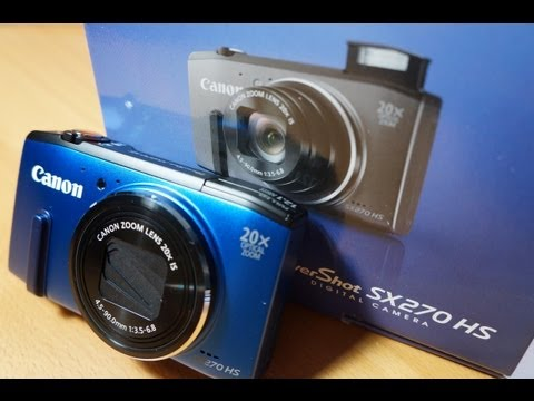 Canon PowerShot SX270 Unboxing and Hands On