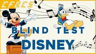 Blind Test Disney 50 extraits