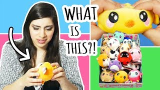 Unboxing a Whole Case of SQUEEZAMALS | Squishies or Plushies?!