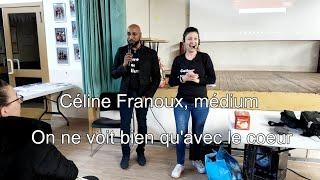 NOUVEAU FILM 2019 Céline Franoux, Médium   On Ne Voit Bien Qu'avec Le Cœur   CONFÉRENCE MÉDIUMNIQUE
