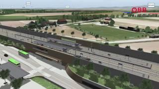 Ausbau Pottendorfer Linie: Bereich Achau September 2015