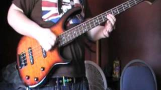 Red White & Brainwashed - Anti-Flag bass cover