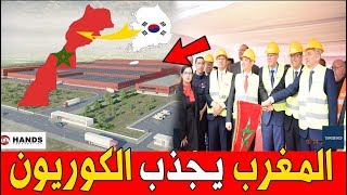 عــاجل .. إستثمار كــوري ضخم في المغرب يخرج الى الوجود !!!