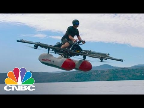 Larry Page's Kitty Hawk Testing 'Flying Car' In Northern California | CNBC