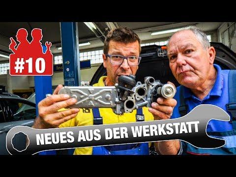 Der wahre Grund für VW-AGR-Fehler? | Kaputtes VW-AGR-Ventil von Innen | Neues aus der Werkstatt #10