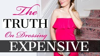 The TRUTH on Dressing EXPENSIVE 💍👠