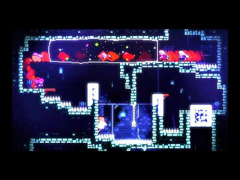 Celeste Gameplay Testing HDR 8 bit Oversaturated
