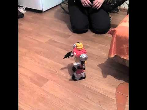 Робот.подарок под новый год племяннику
