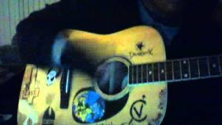 born to die choking victim guitar cover
