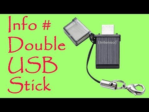 Info # DOUBLE USB STICK