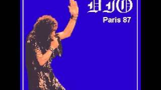 Dio - Naked In The Rain & Guitar Solo  Live In Paris 1987