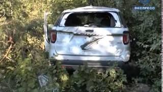 В Шемышейском районе опрокинулась иномарка