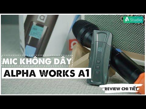 Đánh giá chi tiết Alpha Works A1  Chiếc Mic không dây thần thánh ???
