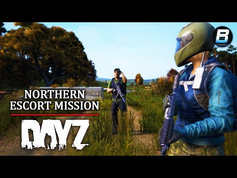 Escort Mission North! - DayZ 1.03