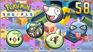 Drilbur  - (Pokémon) - Pokémon Shuffle S Rank 58 - HONEDGE SE COMPLICA & SHUPPET NUBES LOCAS (◕﹏◕)
