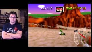 "SgtRaven - Mario Kart 64 Yoshi Valley FLap NTSC 26""76 Personal Record"