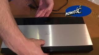 SAMSUNG BD-F7500 3D 4K Blu-Ray 4K upscale UHD SMART HUB unboxing pokaz first look BD-J7500