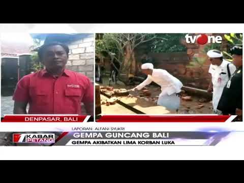 Kondisi Terkini Usai Bali Diguncang Gempa Bermagnitudo 6