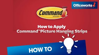 How To Apply Command Picture Hanging Strips