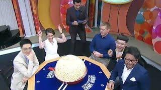 'วิลลี่-ดีเจนุ้ย' ชวนเล่นเกมระเบิดป๊อปคอร์น ก่อนไปฮาจัดเต็มในรายการHollywood Game Night Thailand