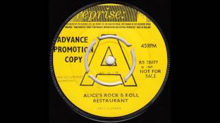 Arlo Guthrie - Alice's Rock & Roll Restaurant