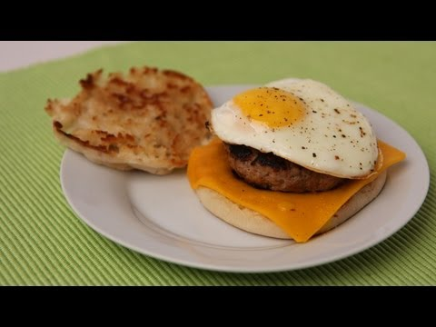 Sausage Egg & Cheese Breakfast Sandwich Recipe – Laura Vitale – Laura in the Kitchen Episode 440