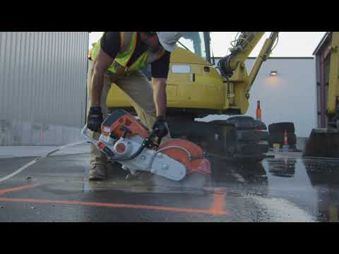 Stihl TS 700 Cutquik 14 in. in Kerrville, Texas - Video 3