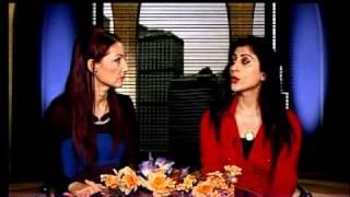 Nasrin Ahmadian's Talkshow on PEN TV & ITN , Iran TV / part #1