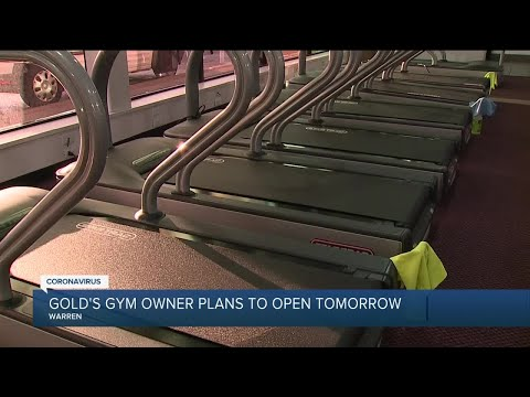 Gold's gym owner plans to open Friday despite state orders