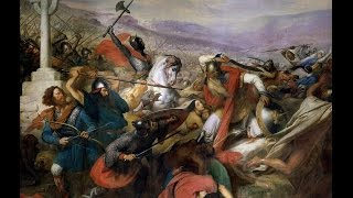 Charles Martel and the Battle of Tours 732 AD