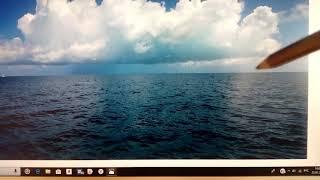 МОРЕ поэтапно (гладь моря ,блики на воде)2