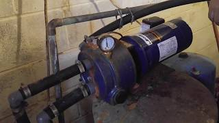 Pump Priming - How To Prime External Jet Pump on a Shallow Well  (water) DIY