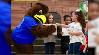 Henry The Hawk Introduced at Henderson Elementary