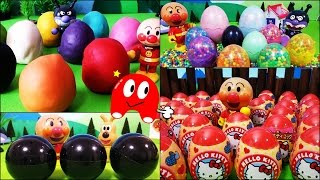 アンパンマン たまご 人気動画まとめ連続再生❤アニメ&おもちゃ キャラクター Anpanman Surprise Eggs